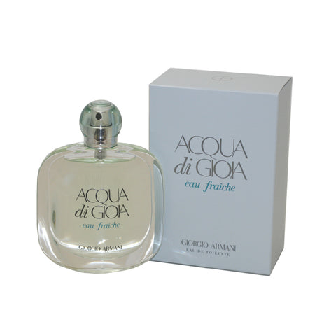 AGF18 - Acqua Di Gioia Eau Fraiche Eau De Toilette for Women - Spray - 3.4 oz / 100 ml