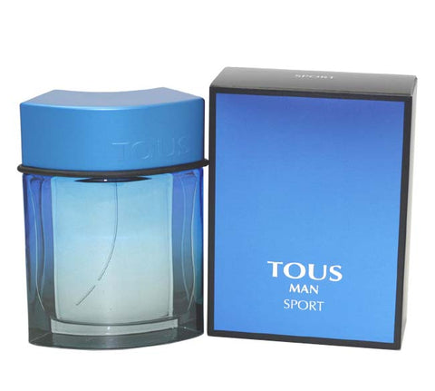 TOUS34M - Tous Man Sport Eau De Toilette for Men - 3.4 oz / 100 ml Spray