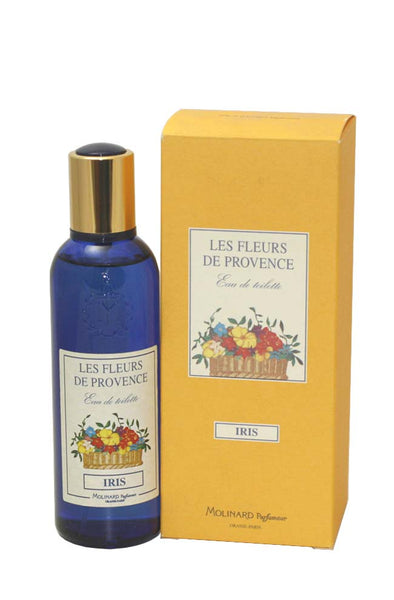 LES11W-F - Les Fleurs De Provence Iris Eau De Toilette for Women - Spray - 3.3 oz / 100 ml