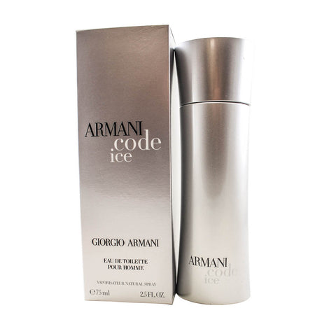 ARI25M - Armani Code Ice Eau De Toilette for Men - 2.5 oz / 75 ml