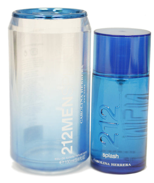 SP212M - 212 Men Splash Eau De Toilette for Men - Spray/Splash - 3.4 oz / 100 ml - Limited Edition 2