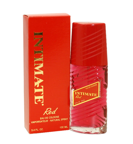 INT12 - Intimate Red Eau De Cologne for Women - Spray - 3.4 oz / 100 ml