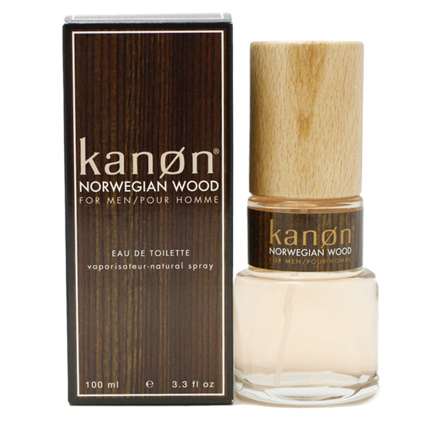 KNW25M - Kanon Norwegian Wood Eau De Toilette for Men - 3.3 oz / 100 ml Spray