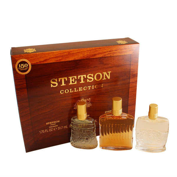 SCS16M - Stetson Collection 3 Pc. Gift Set for Men