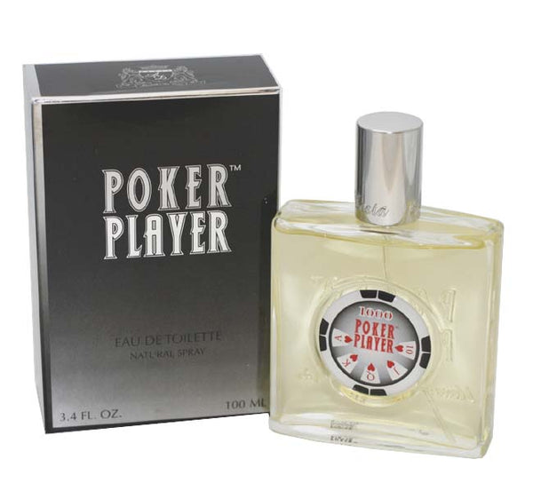 POK11M - Poker Player Eau De Toilette for Men - Spray - 3.4 oz / 100 ml
