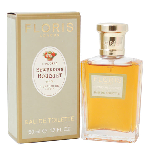 FLW17 - Floris Edwardian Bouquet Eau De Toilette for Women - Spray - 1.7 oz / 50 ml