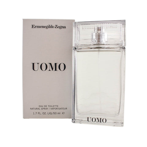 ZU11M - Zegna Uomo Eau De Toilette for Men - 1.7 oz / 50 ml Spray
