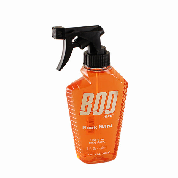 BRH13 - Bod Man Rock Hard Fragrance Body Spray for Men - 8 oz / 236 ml