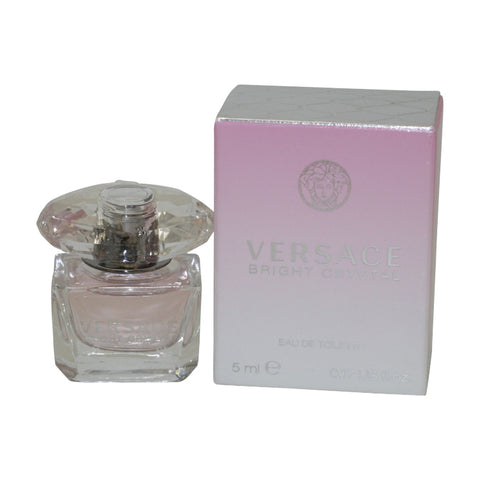 BER65 - Versace Bright Crystal Eau De Toilette for Women - 0.17 oz / 5 ml