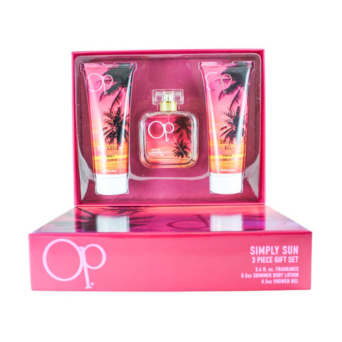 OPSS4 - Op Simply Sun 3 Pc. Gift Set for Women