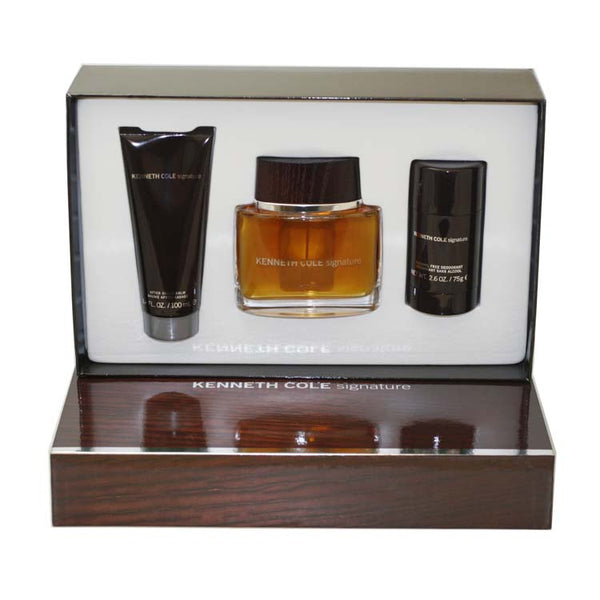 SIG7M - Kenneth Cole Signature 3 Pc. Gift Set for Men
