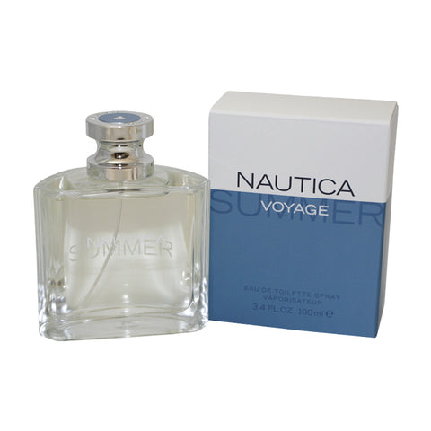 NAUS7M - Nautica Voyage Summer Eau De Toilette for Men - Spray - 3.4 oz / 100 ml