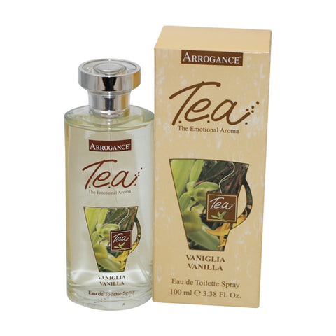 ARM27 - Arrogance T.E.A Vanilla Eau De Toilette for Women - 3.38 oz / 100 ml Spray