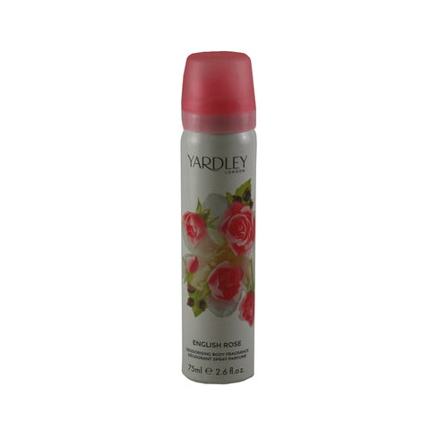 YAR02 - Yardley English Rose Body Spray for Women - 2.6 oz / 75 ml