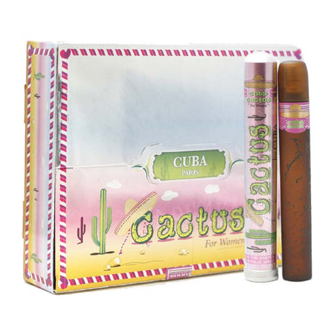 CUC38 - Cuba Cactus Eau De Parfum for Women - 20 Pack - Spray - 1.17 oz / 35 ml - Pack