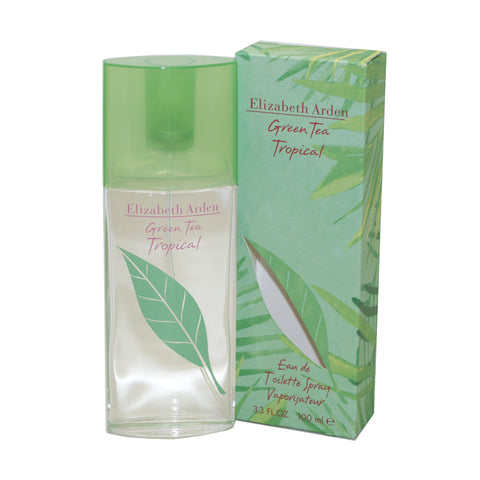 GTT33 - Green Tea Tropical Eau De Toilette for Women - 3.3 oz / 100 ml Spray