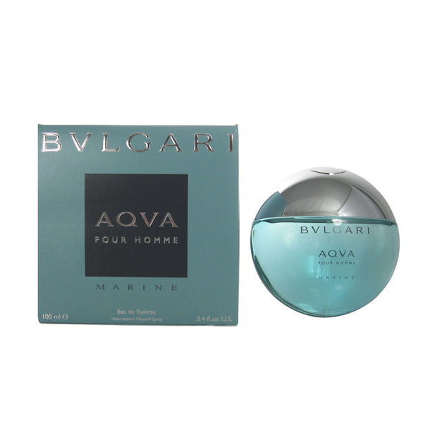 BVM16M - Bvlgari Aqva Marine Pour Homme Eau De Toilette for Men - Spray - 3.4 oz / 100 ml