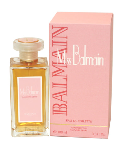 MI18 - Miss Balmain Eau De Toilette for Women - Spray - 3.4 oz / 100 ml