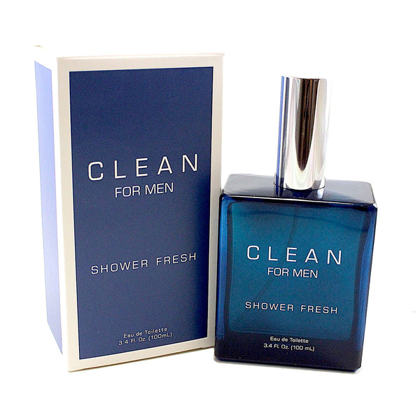 CLES34M - Clean Shower Fresh Eau De Toilette for Men - Spray - 3.4 oz / 100 ml