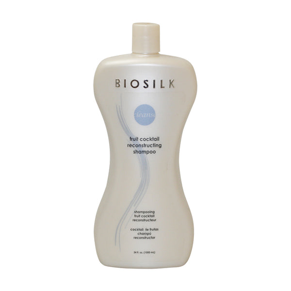 BIO12 - Biosilk Cleanse Fruit Cocktail Reconstructing Shampoo for Women - 34 oz / 1000 ml