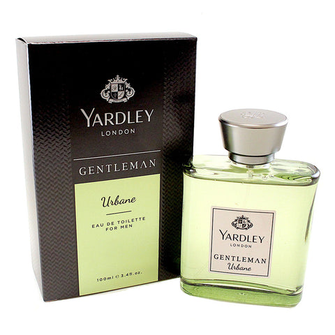 YAR137M-P - Yardley Gentleman Urbane Eau De Toilette for Men - 3.4 oz / 100 ml Spray