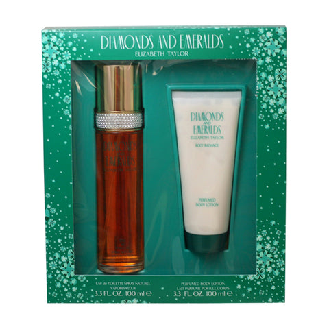 DI404 - Diamonds & Emeralds 2 Pc. Gift Set for Women