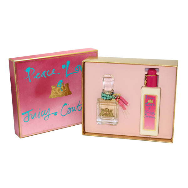 JCPL4 - Peace Love & Juicy Couture 2 Pc. Gift Set for Women
