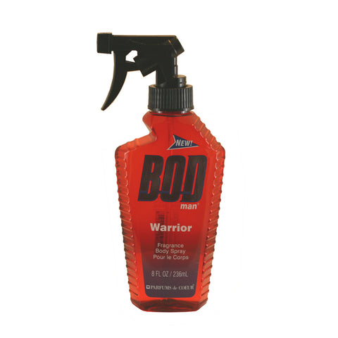 BODW8M - Bod Man Warrior Fragrance Body Spray for Men - 8 oz / 236 ml