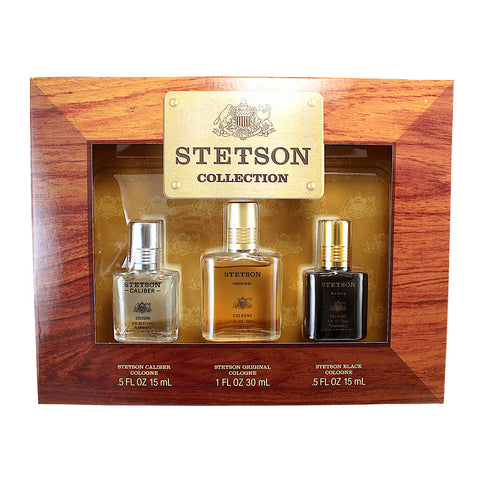 SCS17M - Stetson Collection 3 Pc. Gift Set for Men
