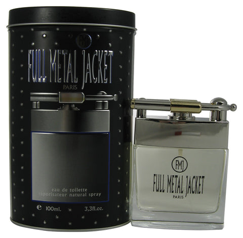 FUL10M-F - Full Metal Jacket Eau De Toilette for Men - Spray - 3.3 oz / 100 ml