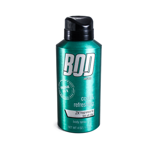 BFG9M - Bod Man Fresh Guy Body Spray for Men - 4 oz / 113 ml