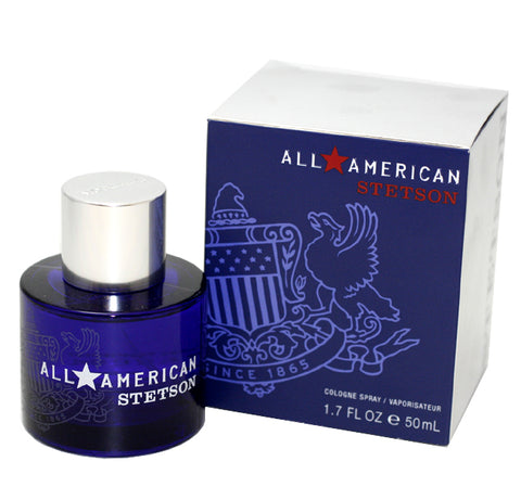 AAS53M - All American Stetson Cologne for Men - 1.7 oz / 50 ml Spray
