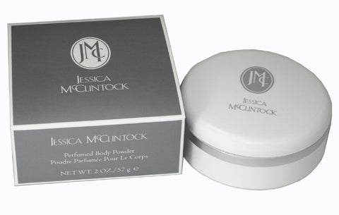 JE598 - Jessica McClintock Jessica Mcclintock Body Powder for Women 2 oz / 60 g - With Puff