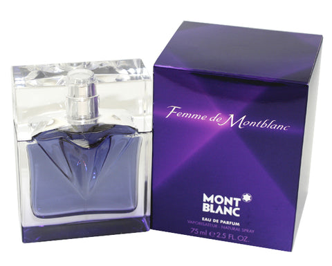 MON44 - Femme De Montblanc Eau De Parfum for Women - Spray - 2.5 oz / 75 ml
