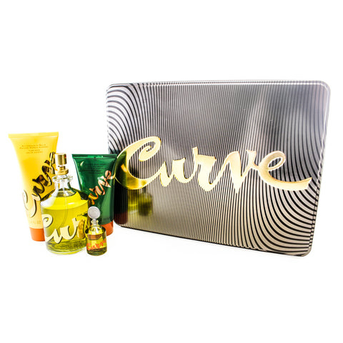 CU37M - Curve 4 Pc. Gift Set for Men