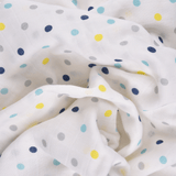 Florals 100% Cotton Muslin Swaddle Pack Of 5 (Colorful) - haus & kinder