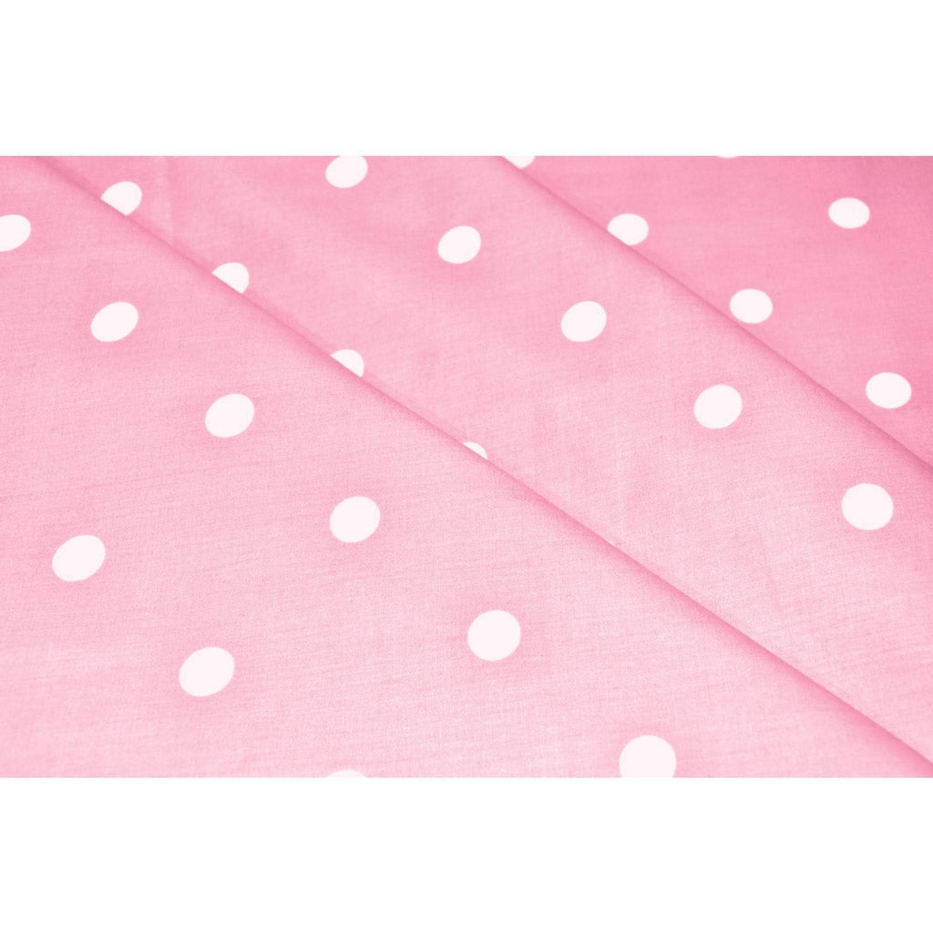 Candy Polka Collection 100% Cotton Single Bedsheet for Kids Room with 1 Pillow Cover 186 TC - haus & kinder