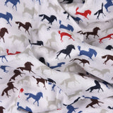 HORSE 100% Cotton Muslin - haus & kinder