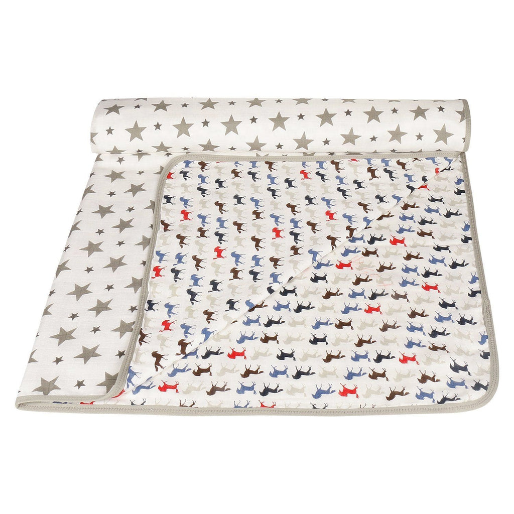 Dream Blanket for New Born, 100% Cotton Muslin, Triple Layer - haus & kinder