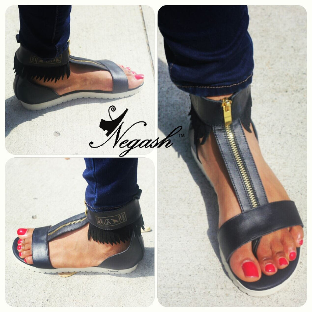 Negash Neith Sandals - Negash Apparel & Footwear