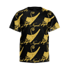 Negash Boys Gold Pharoah Logo T-Shirt