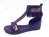 Negash ™ Purple Neith Sandal - Negash Apparel & Footwear - 1
