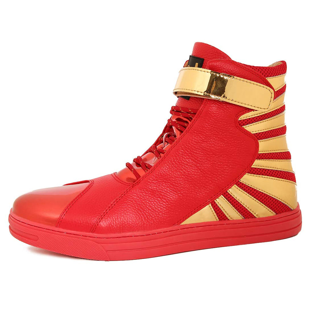 Negash Amun Ra Red Sneakers