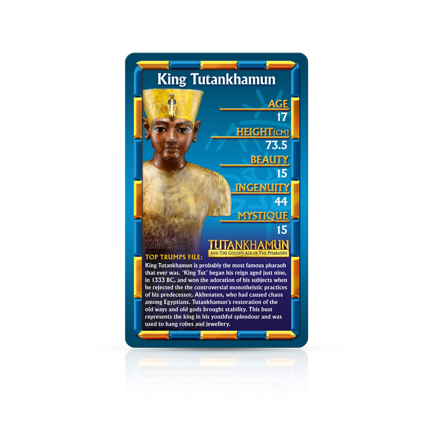 Top Trumps Rules >> Ancient Egypt Top Trumps Card Game