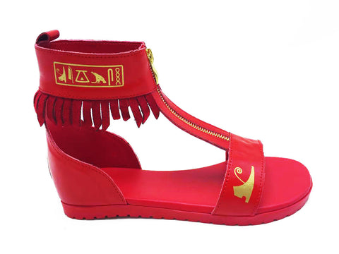 Negash ™Red Neith Sandal