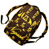 Negash ™ Gold  (Signature) Hieroglyphic Back-Pack - Negash Apparel & Footwear - 1