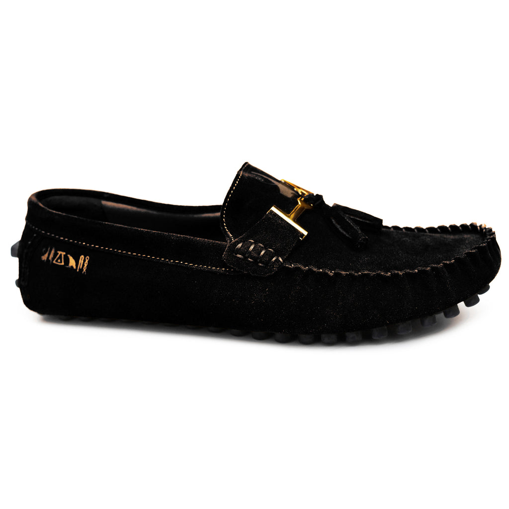 Negash ™ Black Nekhbet Loafer - Negash Apparel & Footwear