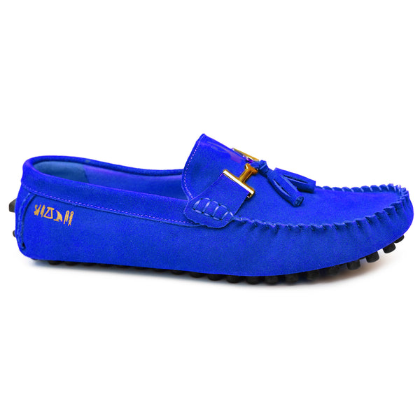 Negash ™ Blue Nekhbet Loafer