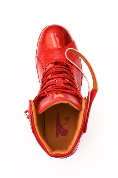Negash ™ All Red Amun Ra Sneakers Royal Blood Edition (Youth) - Negash Apparel & Footwear - 2