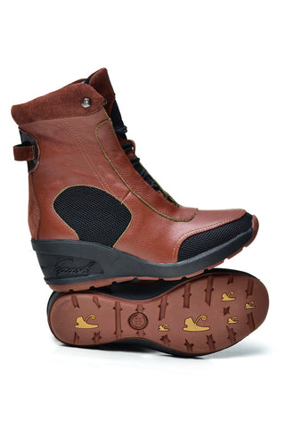 Negash Isis Boot Brown - Negash Apparel & Footwear - 1